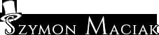 Iluzjonista Szymon Maciak Logo